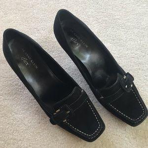 NYOP! Anne Klein iflex heels. Black leather. 8M